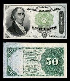 Samuel Dexter 50 cent #GoldBullion