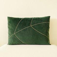 14x20 Velvet Lumbar Pillow Cover 100% Linen Teal   Etsy