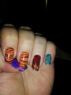 Water Marbling - Nail Art Gallery by NAILS Magazine
