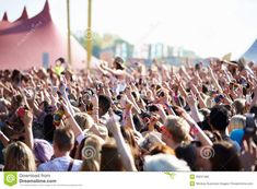 Photo about Crowds Enjoying Themselves At Outdoor Music Festival Waving Hands Having Fun. Image of crowds, sound, outdoor - 39231486 Music Festivals, Crowd, Have Fun, Editorial, Stock Photos, Concert, Outdoor, Beauty, Image