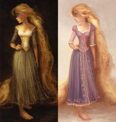 Tangled (formerly Rapunzel) - Page 56 Disney Rapunzel, Disney Princess Art, Princesa Disney, Disney Princesses, Disney Concept Art, Disney Fan Art, Disney Love, Estilo Disney, Arte Disney