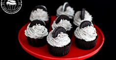 Oreo Cupcakes, Mini Cupcakes, Sweets, Baking, Desserts, Recipes, Foods, Decoration, Tailgate Desserts