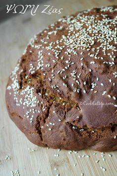 Ψωμί ζέας ⋆ Cook Eat Up! Recipe Box, Biscotti, Healthy Recipes, Healthy Food, Good Food, Food And Drink, Pie, Cookies, Chocolate