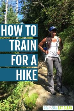 Want to hit the trails or bag some peaks? This will tell you everything you need to know about how to get in shape for hiking and the answer isn't always more cardio! Backpacking Tips, Hiking Tips, Hiking Gear, Hiking Backpack, Travel Backpack, Travel Bags, Camping List, Camping And Hiking, Yoga For Hiking