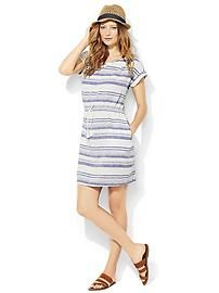 The Linen Dress & Strappy Sandal gap.com