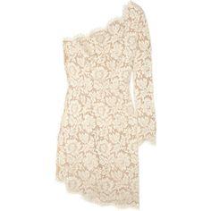 Stella McCartney Asymmetric lace dress