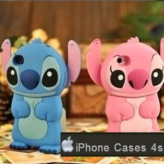 Protect your iPhone 4 with this licensed Disney Stitch-themed iphone 4 case made by 86hero. Made of durable plastic with a siliconized finish, this cute Stitch iPhone 4 cover is designed to tightly fit with your iPhone and make it easy to handle. 86hero Disney Stitch iphone 4 case is also wrapped around all your iPhone's edges to protect it from bumps and drops while leaving the screen completely available for use.