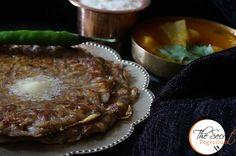 Vrat Ki Roti | Kuttu Singhara Sama Ke Atta Ki Thalipeeth | Buckwheat Water Chestnut & Barnyard Millets Flour Flatbread