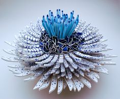 New Blooms of Ceramic Shards by Zemer Peled  http://www.thisiscolossal.com/2015/05/new-blooms-of-ceramic-shards-by-zemer-peled/