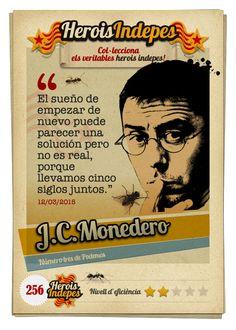 """#HeroisIndepes 256. Juan Carlos Monedero: """"El sueño de empezar de nuevo puede parecer una solución adecuada pero luego no es real, porque llevamos cinco siglos de aventura en común."""""""