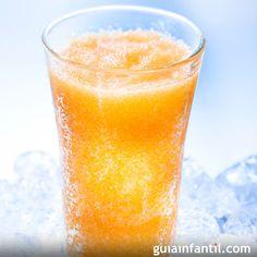 Un granizado refrescante y con muchas vitaminas para el verano.