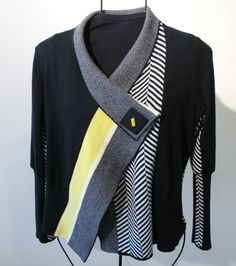 Wow, how come i can only come up with stuff like this in my head?  Textile Center  upcycled sweater