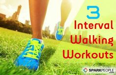 3 interval workouts for walkers of all fitness levels | via @SparkPeople #walk #walking #fitness