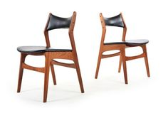 Six Danske Mobler Dining Chairs - Mr. Bigglesworthy Designer Vintage Furniture Gallery