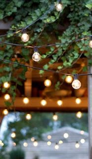 As soon as summer hits, backyard party season has officially begun! One of the best ways to transform your outdoor space from basic to awe-inspiring is through outdoor lighting. Globe lighting is a perfect and easy way to create … Continue reading → Outdoor Lighting, Outdoor Decor, Lighting Ideas, Party Outdoor, Wedding Lighting, Backyard Lighting, Accent Lighting, Outdoor Light Bulbs, Outdoor Entertaining