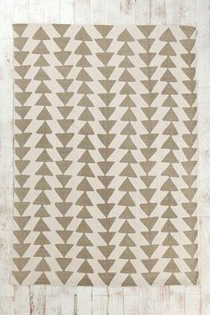 Magical Thinking Triangle Chain Rug