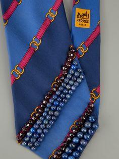 hermes vintage silk woman's tie