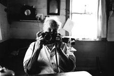 tokyo camera style - chadtobin:   Shooting Robert Frank with a Mamiya 7...