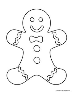 Creative Picture of Gingerbread Coloring Pages . Gingerbread Coloring Pages Christmas Gingerbread Man Coloring Page For Gingerbread Coloring Christmas Gingerbread Men, Felt Christmas, Christmas Colors, Gingerbread Man Crafts, Christmas Stocking, Christmas Presents, Christmas Templates, Christmas Printables, Christmas Crafts