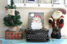 FARMHOUSE FOR FIVE: Blogger Holiday Home Tour 2015