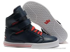 Supra TK Society Blue Red White Mens High Tops