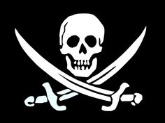 Just Another Day in Japan: The not-so-interesting, but straightforward and easy-to-remember pirate flag, in Japanese