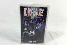 Vintage NKOTB No More Games the Remix Album by TeaLightedTeacups