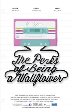 The Perks of Being a Wallflower Motion Title by Taylor thomas, via Behance