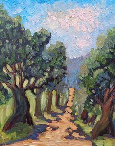 Olive Tree, Fine Art Gallery, Tree Art, Artist, Artwork, Painting, Etsy, Work Of Art, Art Gallery