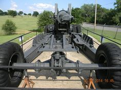 45th Infantry Division Museum Oklahoma City, Oklahoma M115 8 inch towed howitzer (3)