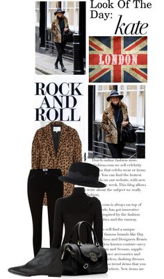 """Look Of The Day: Kate Moss"" by bellablondie on Polyvore"