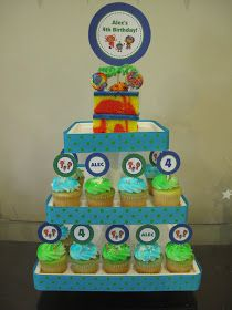 Team Umizoomi Birthday Party Ideas Personalized PDF files of all items pictured below are available for purchase as a package. Email me f...