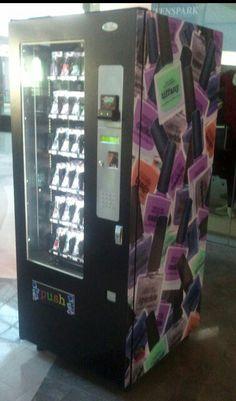 Nail polish vending machine!!