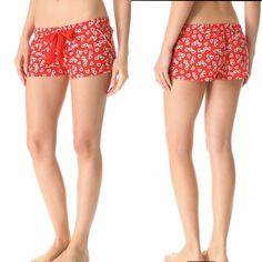 Juicy couture sleep shorts NEW NWOT Juicy couture heart shorts juicy couture intimates Juicy Couture Intimates & Sleepwear Pajamas