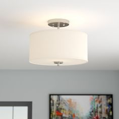 You'll love the Salmons 2-Light Semi Flush Mount at Wayfair - Great Deals on all Lighting products with Free Shipping on most stuff, even the big stuff.