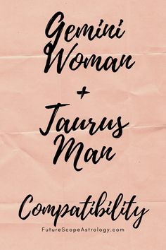 Gemini Woman and Taurus Man: Love, Compatibility, Friendship, Attraction, Breakup Taurus Man Gemini Woman, Taurus Man In Love, Taurus And Gemini, Gemini Taurus Compatibility, Gemini Quotes, Astrology Chart, Zodiac Society, Friendship Quotes, Breakup