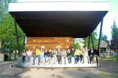 Students build outdoor performing arts stage in Ridgway - CU ...