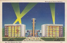 The Electric Building (Westinghouse, that is). Courtesy Moore's Postcard Museum http://postcardmuseum.wordpress.com