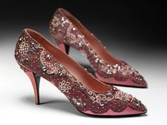 Shoes Roger Vivier for Dior, 1958-1950 The Victoria & Albert Museum