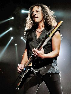 """I wasn't motivated by money or fame… I was just motivated by wanting to play the guitar well."" -Metallica's Kirk Hammett"