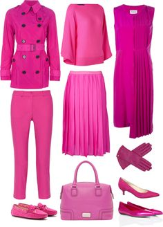 Fuchsia clothes to inspire you!