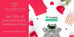 Surprise the one you love with 10% off this #ValentinesDay. #LondonDE #bespokeservice #bespokejewellery #diamonds #colouredgemstones #ethicallysourced #sustainablysourced #giftspiration #HattonGardenJewellery #HattonGardenJewellers #HattonGardenJewels #HattonGardenGems #ValentinesDaySale #ValentinesDayGift #ValentinesGift #ValentinesGifts #ValentineGift #ValentineGifts #Valentine #Valentines #ValentineJewels #ValentinesJewellery #ValentinesDayJewellery #ValentinesPromotion #ValentinePromotion Valentine Gifts, Valentines Day, Hatton Garden, Bespoke Jewellery, Diamonds, Jewelry Making, Handmade, Valentine's Day Diy, Hand Made