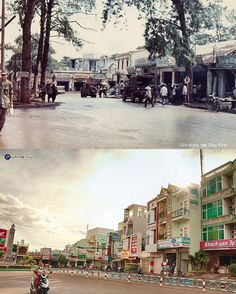 Pleiku xưa giai đoạn 1965 - 1971 và nay | by Quang Vũ Photography (Chụp ảnh Gia Lai)