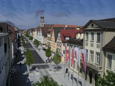 Panoramio - Photo of Hauptstraße - Göppingen Germany, Street View, Military, Country, City, Pictures, Travel, Photos, Viajes