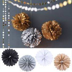 Glam Party Poms