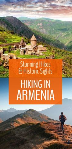 Have you ever thought about hiking in Armenia? Once you've seen these photos of stunning landscapes and ancient monsteries you will want to go! | Travel | Armenia | Trekking | Hiking