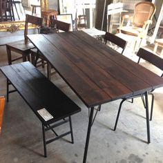 ダイニングテーブル&ベンチのご案内 | Entrepot Blog