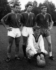 Soccer, Germany, 1966, Franz Beckenbauer, Patzke, Lutz, Sepp Maier