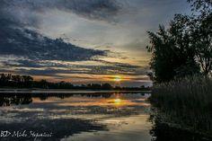Sonnenaufgang 4, am Allersee, Wolfsburg, Niedersachsen, Deutschland