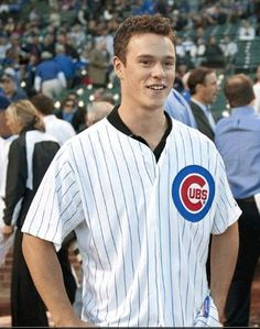J. Toews in cubs Jersey what more could I want!!!!
